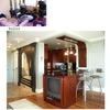 architect Boston MA, before and after,condominium renovation,front entry,custom kitchen
