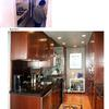 architect Boston MA,condominium renovation,before and after,front entry,custom kitchen