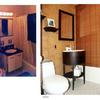 architect Boston MA, before and after,condominium renovation,powder room