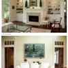 architect Milton MA, custom home, shingle style,living room, built-ins, pocket doors
