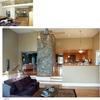 architect Weston MA, interior makeover, before and after, ranch house,living room, custom kitchen
