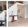 architect Weston MA, exterior makeover, before and after, remodel, addition, renovation, entry foyer